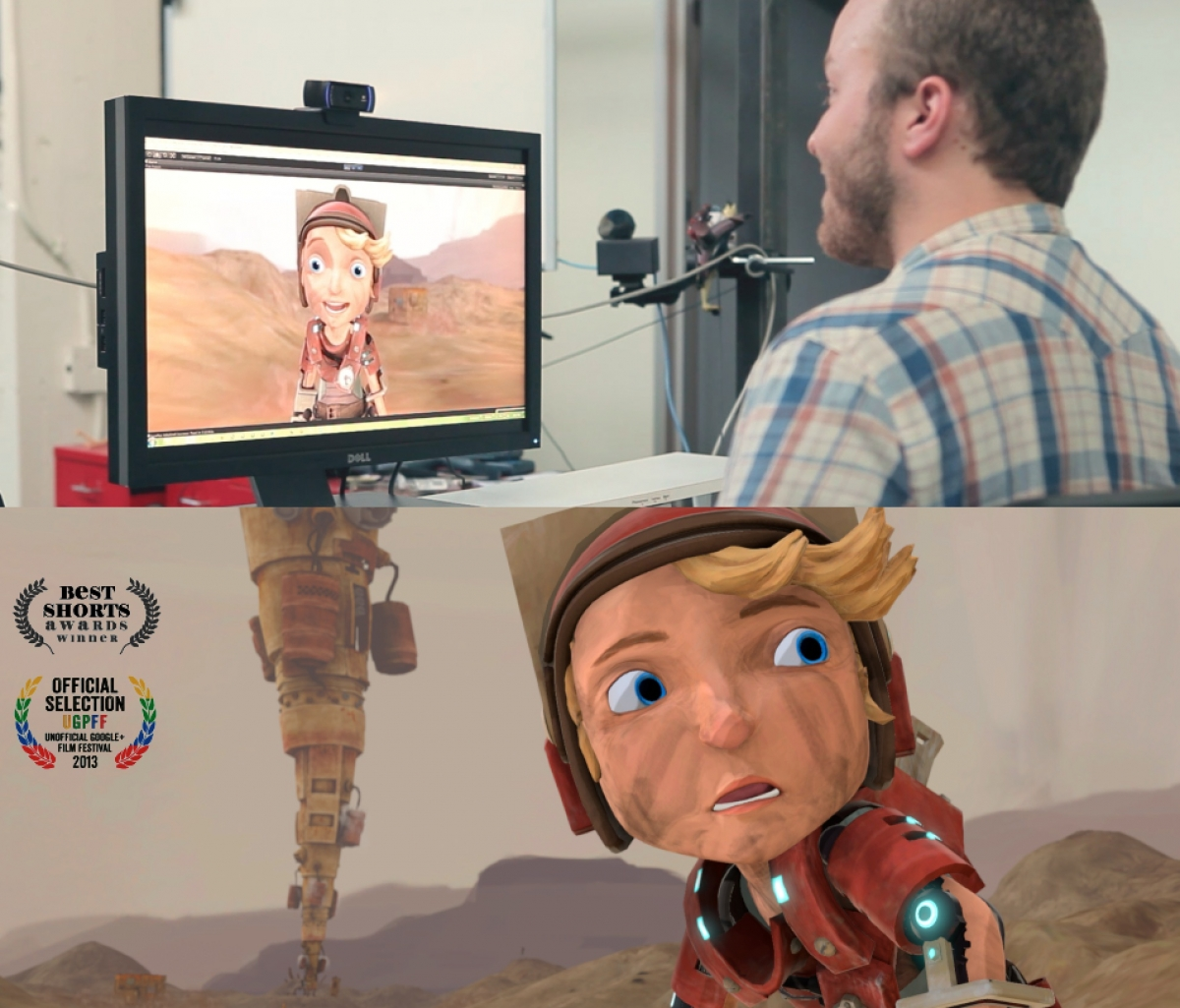 Real-Time Animation of Cartoon Character Faces © 2014 Emiliano Gambaretto, Charles Piña, Mixamo, Inc.
