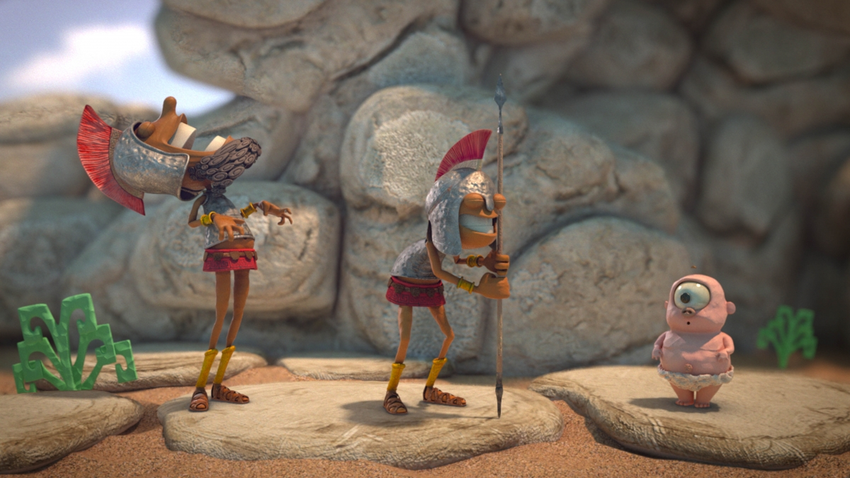 Poly's Feast: Snappy Stop-Motion Style Achieved by Using CGI
